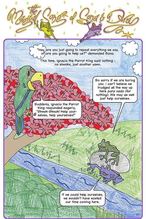 The Magical Song of Sona & Dora (Eng. pg-11)