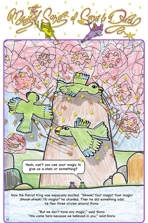 The Magical Song of Sona & Dora (Eng. pg-12)