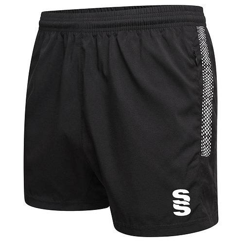 Black Dual Performance Gym Shorts