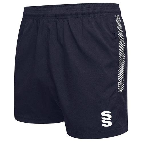Navy Dual Performance Gym Shorts