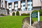 Outside look of the Briercliff Apartment building located in Ross Township, Pa.
