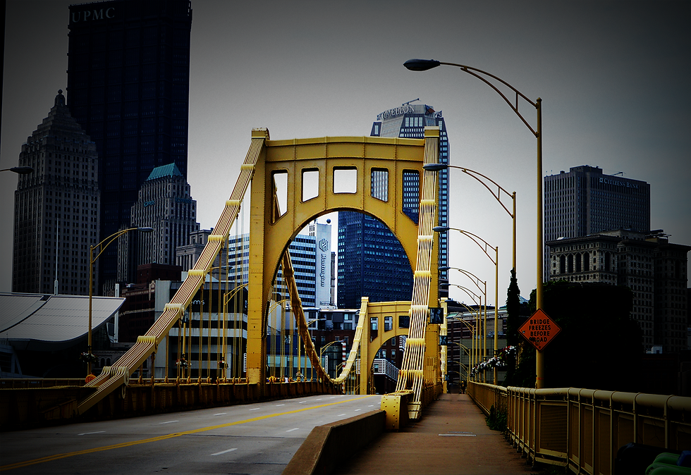 Smithfield bridge Pittsburgh
