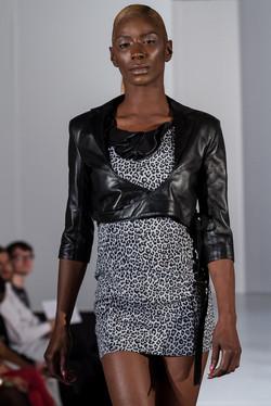 Ballet style leather jacket