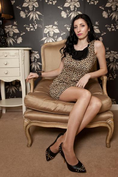 leopard Ruffle Tunic