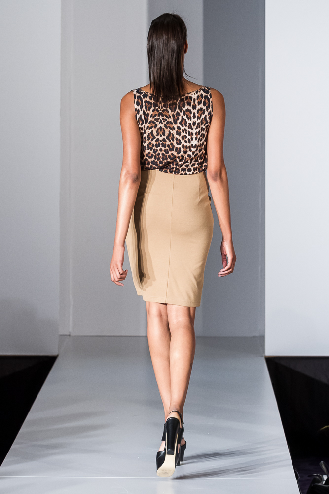 Leopard waterfall top