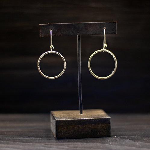 Atomic Drop Earring