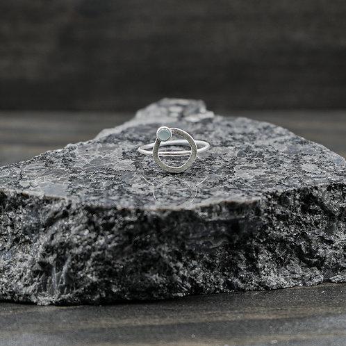 Celia Ring with Aquamarine