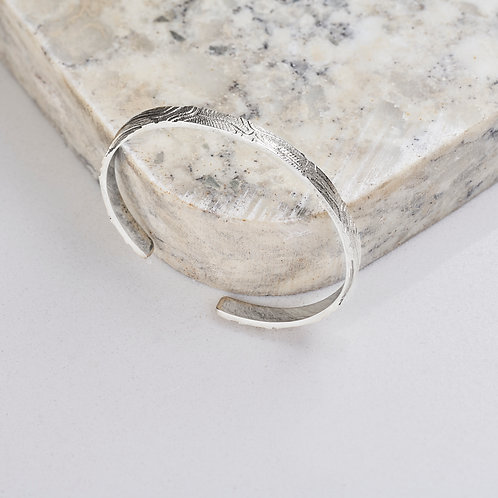 Elevation Cuff in Sterling Silver