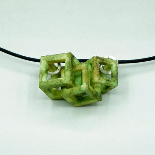 Triple Cube Necklace