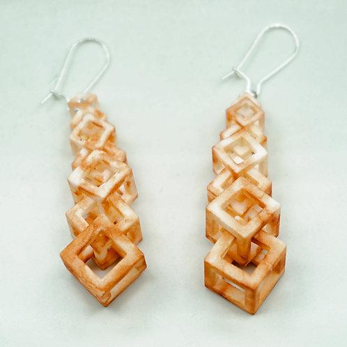 Tessellated Drop Earrings