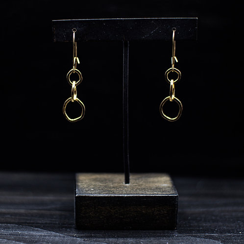 Alexandra Earrings 14k Vermeil