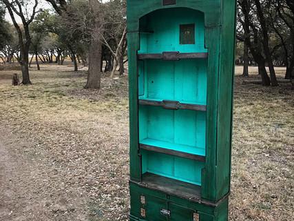 Margie's Bookcase Cabinet