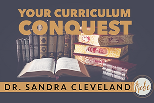 curriculum conquest workbook page cover.