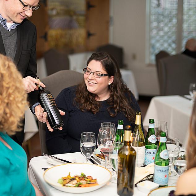 Wine Selection at Café Provençal