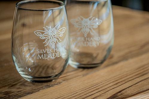Logo Stemless Glass