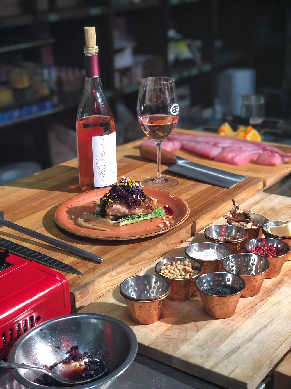 Cooking with Wine Meal