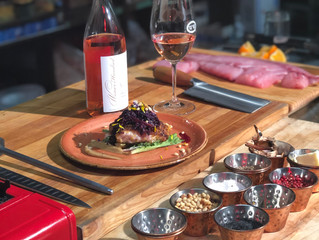 Cooking With Wine - Through Rosé Colored Glasses: Episode 1