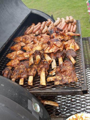 Aberdeen Barn BBQ Meats on grill2.JPG
