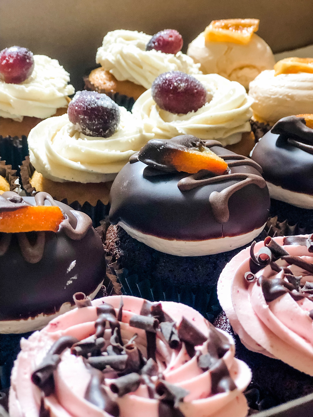 Twisted Sisters and Williamsburg Winery Collaboration Cupcakes