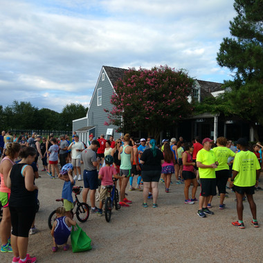 The Run Club is a Family Friendly Event