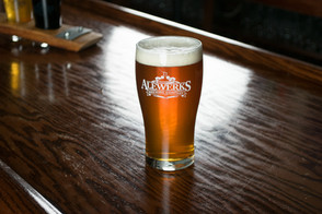 Alewerks pint on bar.jpg