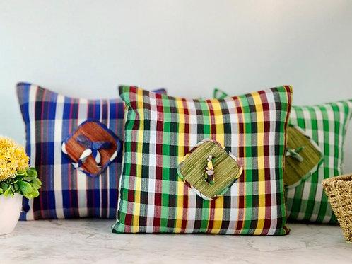 Loom Woven Throw Pillow