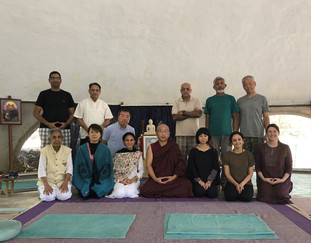At Vajradhatu with Venerable Sudhammacara 2018