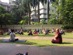 Yoga with Rie San & Ven Sudhammacara