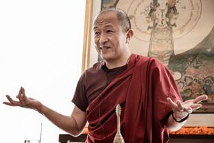 Dzongsar Khyentse Rinpoche in Mumbai