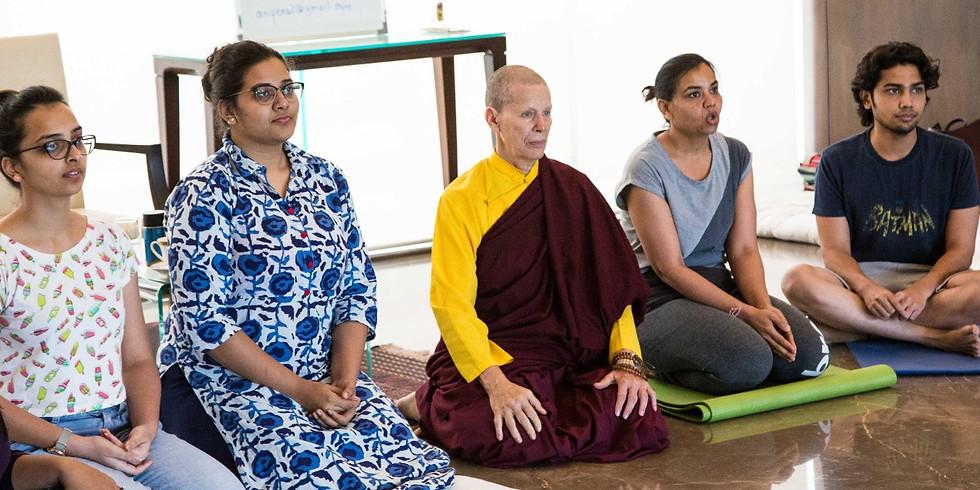 Workshop with Venerable Ani Pema