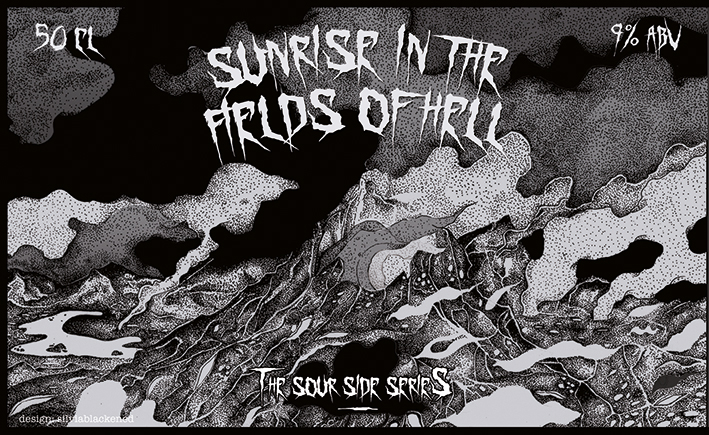 Sunrise in the fields of hell