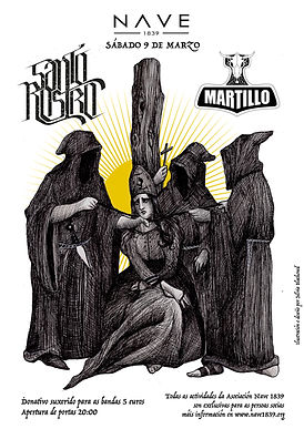 Santo Rostro Poster concert