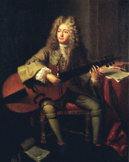 Marin Marais by André Bouys, 1704
