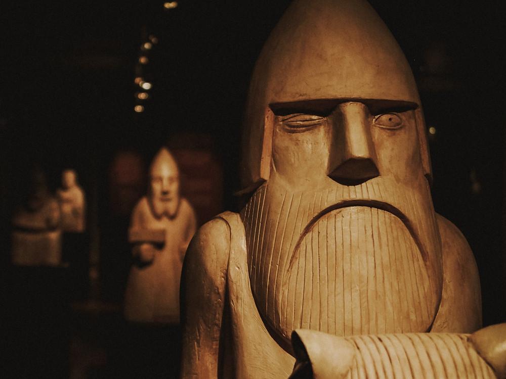 Odin Carving, Gothenburg Museum of Natural History , Photo: Kristijan Arsov, Unsplash