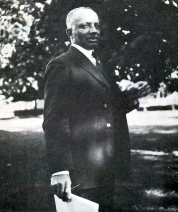 Portrait of Woodson from West Virginia Collegiate Institute's El Ojo yearbook (1923)