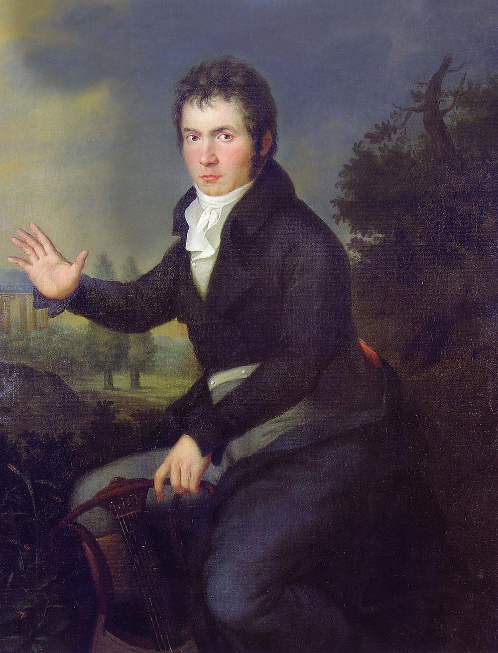 Joseph Willibrord Mähler's Beethoven Portrait 1804/05