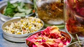 Herbal Tea Garden – Flowers and Herbs