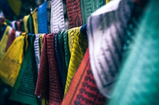 Tibetan Prayer Flags by @fancycrave