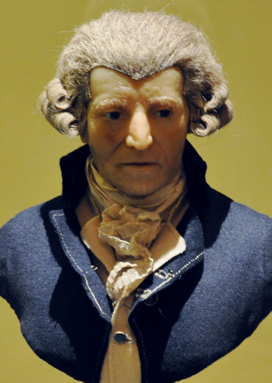 Haydn wax sculpture by Franz Thaler, c. 1800