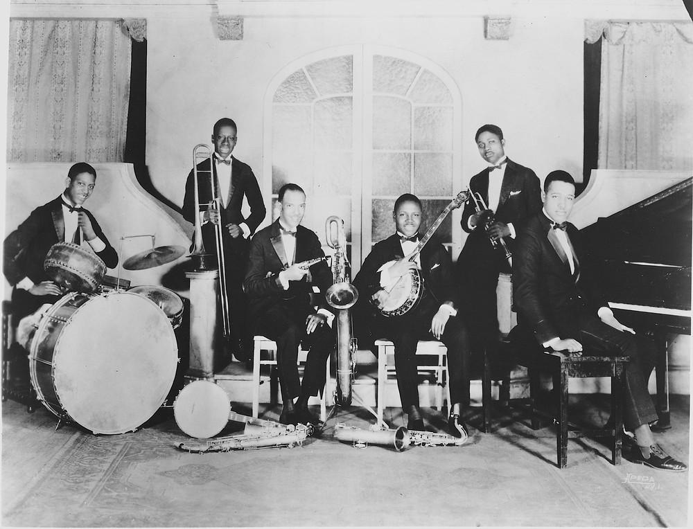 "Duke's Original Band ""The Washingtonians"" in 1925"