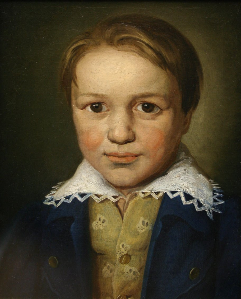 Anonymous, Beethoven at 13, 1783