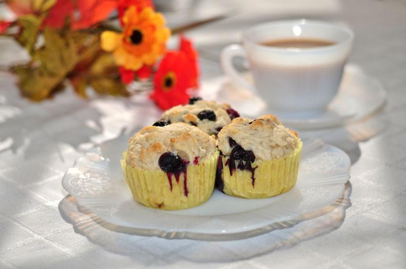 Ricotta Blueberry Muffins, photo: Glen Almen