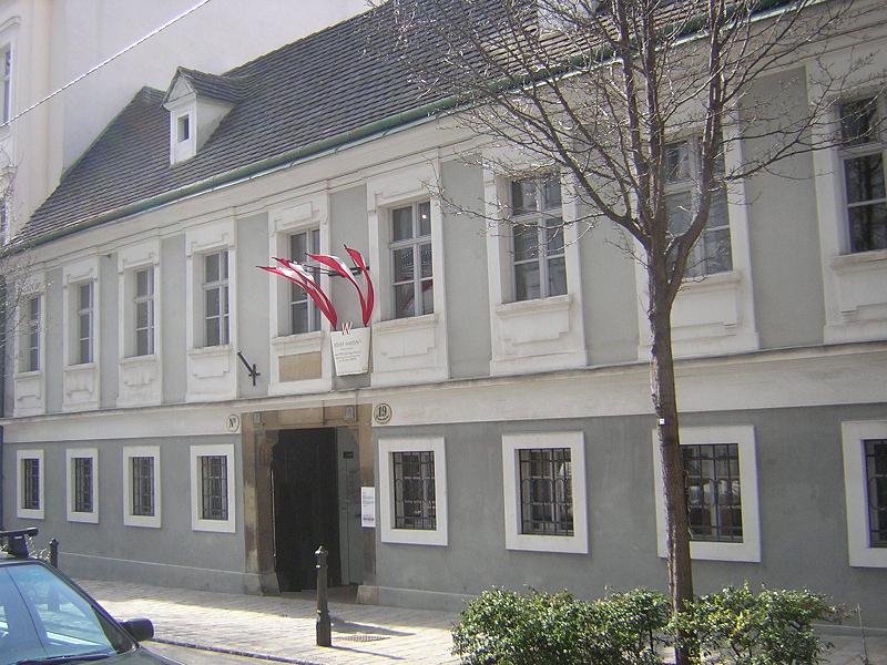 Haydn's House in Vienna, Wikipedia