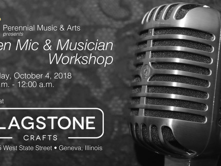 Open Mic Event: October 4, 2018