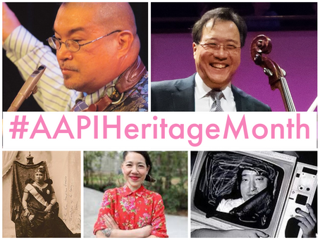 Celebrating Asian American and Pacific Islander Artists