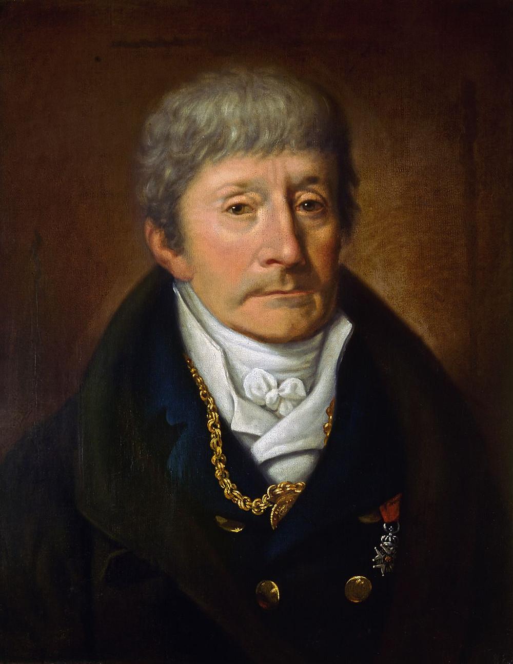 Salieri Portrait by J. W. Mähler