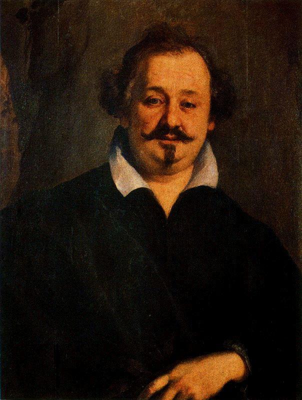 Ritratto del poeta Giulio Strozzi by Tiberio Tinelli (1586-1638)