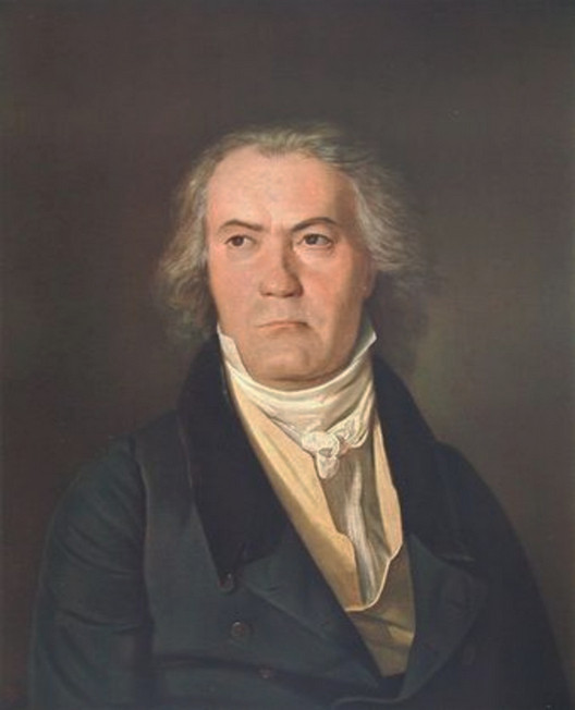 Beethoven in 1823 by Ferdinand Georg Waldmüller
