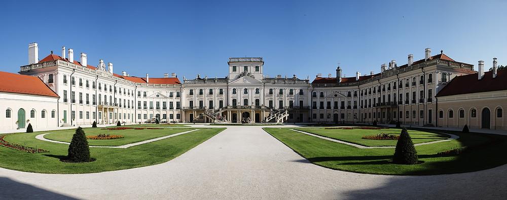 Esterházy Castle,Wikipedia