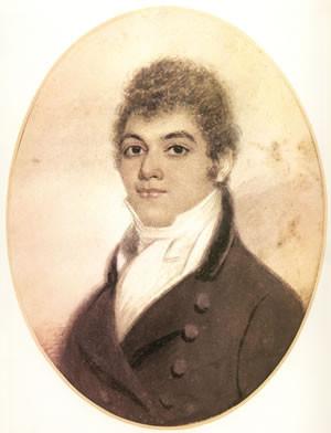 George Bridgetower, unsigned watercolor, 1800